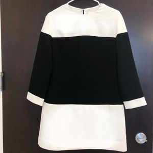Kate Spade Color-Block Mini Dress